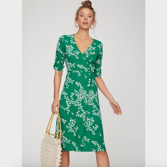 e82d2867ddeb Faithfull the Brand Dresses | Estelle Floral Wrap Dress | Poshmark